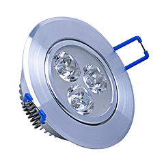 3W LED Downlights 3 High Power LED 240lm Warm White / Cool White Decorative  AC 85-265V Yangming 5 pcs