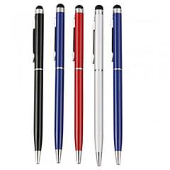 kinston® 5 x universell metall stylus pekskärm penna klipp med kulspetspenna för iphone / ipad / Samsung och andra
