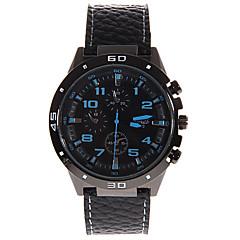 A370Men's fashion watches circular leather belt Wrist Watch Cool Watch Unique Watch
