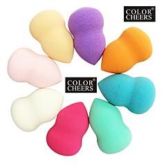 Przechowywanie kosmetyków Poduszeczka do pudru/Gąbka Beauty Blender Gąbki naturalne Okragłe 6x4x4