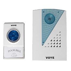 γενικές voye v001a ασύρματο τηλεχειριστήριο οδήγησε κουδούνι της πόρτας χτύπησε CPVC