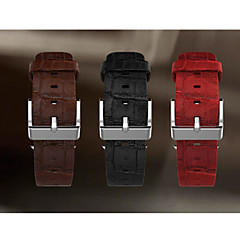 Klockband för äpple klocka 42mm läder klockband klassisk spänne