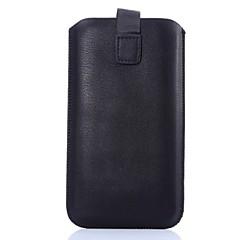 couro pu 5,2 polegadas onda pele de carneiro caso universal para Samsung Galaxy S3 / S4 / S5 / S6