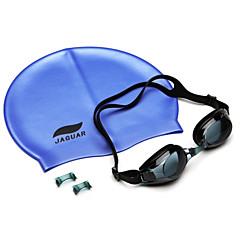 JIEJIA Anti-Fog Mirror Super J2659-1 (Black) + Silica Gel Caps (Blue)