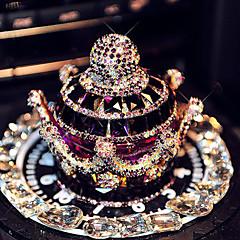 honorv ™ coche perfume de diamantes de imitación de diamante adornos