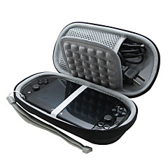 carry eva estuche de viaje bolso de la caja cubierta protectora para Sony PS Vita con cargadores
