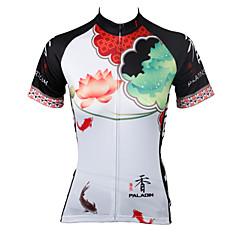 PALADIN® Maglia da ciclismo Per donna Maniche corte BiciclettaTraspirante / Asciugatura rapida / Resistente ai raggi UV / Compressione /