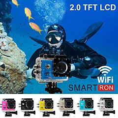 """""""170 degrés fhd 1080p étanche le sport d'action caméra vidéo numérique TFT smartron de wi-fi 2.0"""