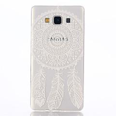 For Samsung Galaxy etui Transparent / Mønster Etui Bagcover Etui Drømmefanger TPU Samsung A7