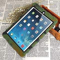 Tire Pattern Drop Resistance Dustproof Protective Case for Ipad Air with Holder - Four Color Optional