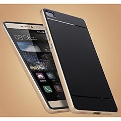 Varten Huawei kotelo / P8 Iskunkestävä Etui Takakuori Etui Yksivärinen Kova TPU Huawei Huawei P8