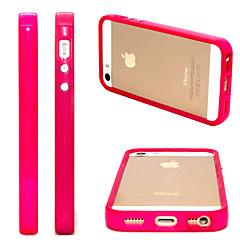 rosa pc amortecedor macio para iphone 5 / 5s