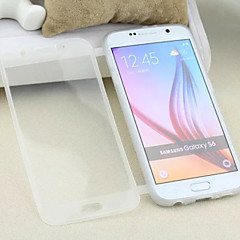 Transparent Flip Free Turn Touch TPU Phone Case for Samsung Galaxy S6 (Assorted Colors)