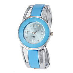 Women's Watch Bracelet Watch Blue Round Dial