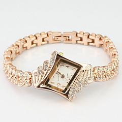 pentru Doamne Ceas La Modă Quartz Aliaj Bandă Sclipici / Perle / Charm / Brățară rigidă Roz auriu Marca-