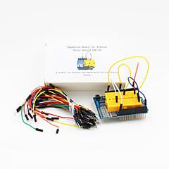 uno escudo proto tarjeta de expansión r3 + puente protoboard (65-cable del paquete)