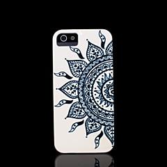 couvrent modèle mandala de fleur aztèque pour l'iphone 5 cas pour 5s iphone