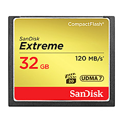 SanDisk 32GB Compact Flash CF Card memory card EXTREME 800X