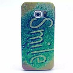 mönster leende st hårda fallet för Galaxy S3 / S4 / S5 / S6 / S6 kant / S4 mini / S5 mini