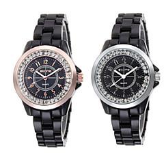 Female Inlay Diamond Disc Korean Ceramics And Women Fashion Waterproof Watch
