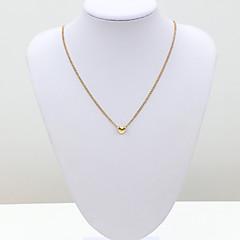 Damskie Łańcuszki na szyję Kryształ sztuczna Diament 18K złoty Austria Crystal Modny Europejski Gold Biżuteria Na