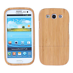 Walnut Wood Premium Quality Natural Wooden Case for Samsung S3