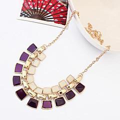 Cusa Fashion Double-deck Diamond Necklace