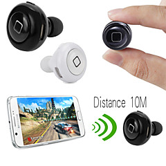 desgaste del deporte auricular bluetooth estéreo en la oreja con el micrófono para el teléfono inteligente