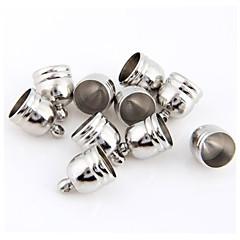 10st cup metall smycken gavlar pärlor rön 0.51x0.39