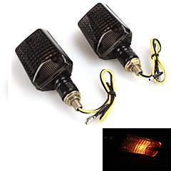indicador intermitente señal de giro motocicleta bombilla de la lámpara de luz (2 piezas)