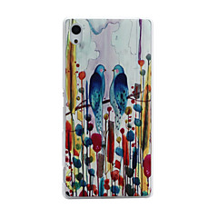 Birds Pattern PC Material Phone Case for Sony Xperia Z4