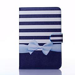 bowknot pattern pu nahka koko kehon tapauksessa jalusta iPad mini 1/2/3