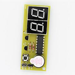 digital modulo contatore di impulsi a sette segmenti a 2 cifre - verde + nero