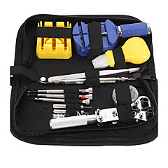 Durable Portable 13 Pcs Watchmaker Watch Repair Tool Set Kit Pin Remover Case Opener Adjuster