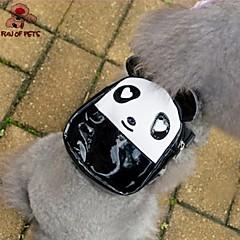 Perros Mochila Negro Ropa para Perro Verano Caricaturas Adorable
