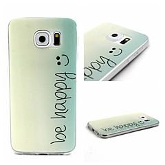 Lächeln-Muster-TPU Material Telefonkasten für Samsung-Galaxie-S6 / S5 / s3mini / s6edge / s4mini / s3 / s5mini