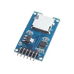 pentru modulul de card SD card de cititor tf cititor de carduri micro interfețe SPI Arduino cu convertor de nivel cip