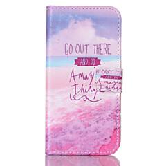 rosa Meer-Muster PU-Leder gemalt Telefonkasten für Galaxie S3 / S4 / S5 / S6 / s6edge / s3 mini / s4 mini / s5 mini
