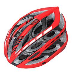 Hegy/Országút - Uniszex - Kerékpározás/Hegyi biciklizés/Országúti biciklizés/Szórakoztató biciklizés - Sisak ( Fehér/Piros/Fekete ,