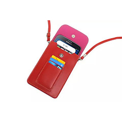 hög kvalitet PU läder fällbara väska till Samsung Galaxy S2 / s3 / s3 mini / S4 / S4 mini / S4 aktiv / S5 / S6 / S6 kant