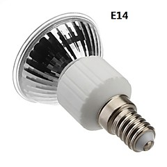 E14 / E27 4w 60x3528smd 210-240lm 3000-3500k varmt hvidt lys førte spot pære (85-265v)