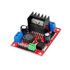 integroitu DC-DC-lähtö 5v (punainen kilpi) v2 askelmoottori kuljettaa moduuli l298n tasavirtamoottori
