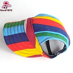 Gatos Perros Bandanas y Sombreros Multicolor Ropa para Perro Verano Primavera/Otoño Bloques Vacaciones Casual/Diario