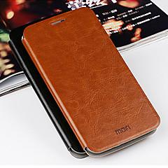 mofi® lyx äkta läder flip plånbok väska till Asus zenfone 2 ze550ml ze551ml / Asus zenfone 5 (blandade färger)