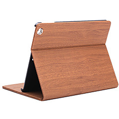 folding rombe pu lærveske med stativ for ipad 2/3/4