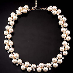 Cusa Diamond and Pearl Necklace