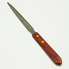 Polished Dual-blade Wooden Handle Letter Opener Designed Home Aid