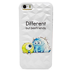 Three Big Eyes Pattern Hard Case for iPhone 5/5S