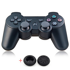 Bluetoot Wireless Controller Dualshock Gamepad For PlayStation 3 PS3(Send A Pair Thumb Stick Grips Cap)