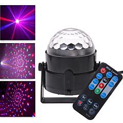 LT noir avec télécommande Projecteur LED laser rouge rgb